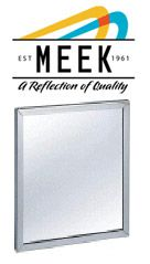 Stainles Steel Channel Framed Mirrors