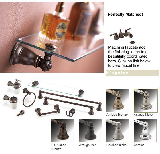 Moen Accessories - Kingsley