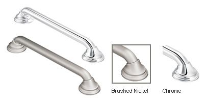 MOEN - SecureMount - Designer Ultima Brushed Nickel