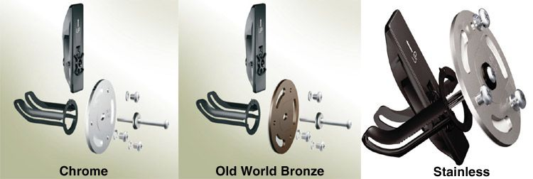 GRAB BAR MOUNTING KITS  MOEN - Secure Mount