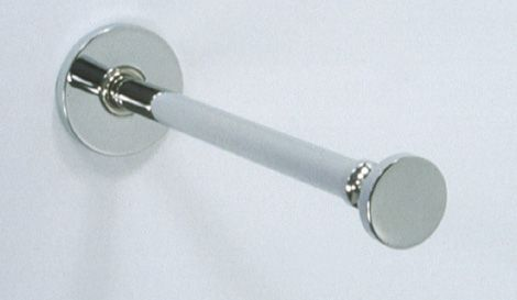Pull Out Garment Rod W/ 1 1/4 Inch Disc Tip