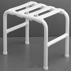 PONTE GIULIO - Stool with seat in nylon staves - 16 1/2 Inchx 12 1/2 Inch x 15 1/2 Inch