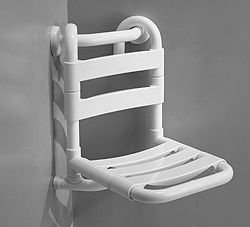 PONTE GIULIO - Removable corner seat with seat in nylon staves. Handle for achoring is not included - 13 inch x 13 inch