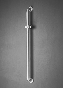 PONTE GIULIO - Vertical support with sliding hand shower holder - 44 1/8 inch