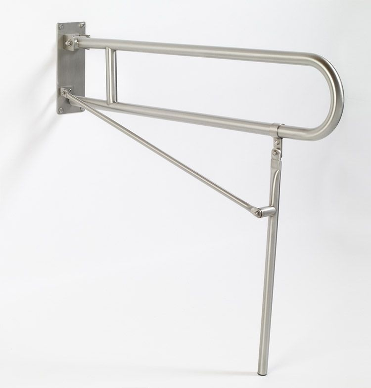 Grab Bar Specialists: , Flip Up Safety Bars and Rails (Stainless ...