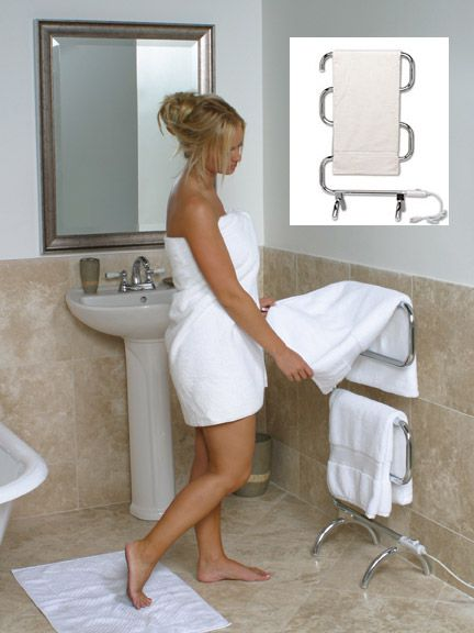 best heated towel rack wall mounted classic drying warmer costco lowes