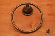 Beaded Bell Base Towel Ring - Antique English