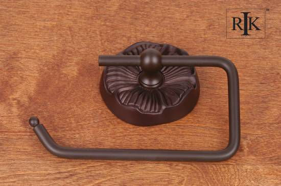 One Arm Daisy Base Contemporary Tissue Paper Holder - Oil Rubbed Bronze