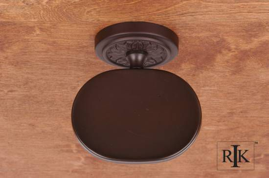 Flower Base Soap Dish - Oil Rubbed Bronze