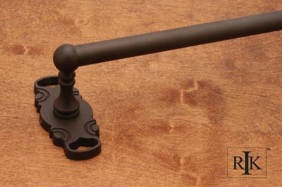 18 inch Single Towel Bar - Oil Rubbed Bronze