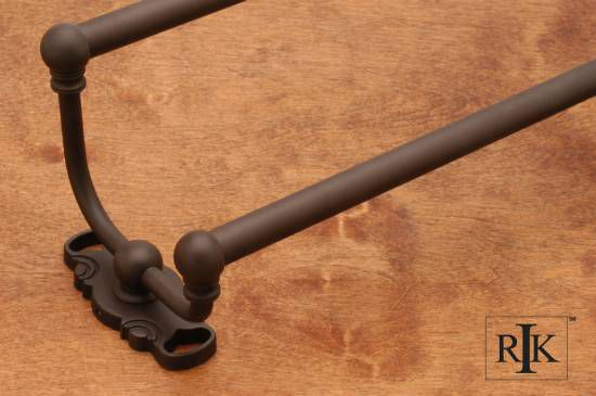 24 inch Double Towel Bar - Oil Rubbed Bronze