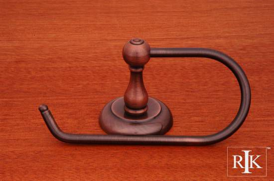 European Style One Arm Contemporary Tissue Paper Holder - Antique Copper