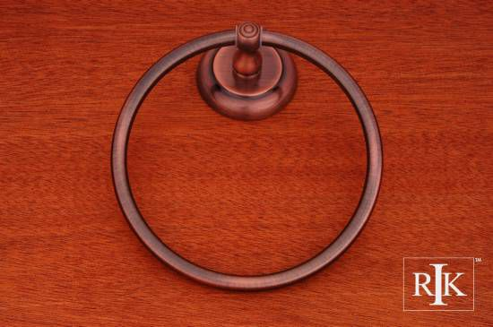 European Style Towel Ring - Antique Copper