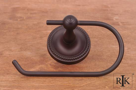 One Arm Rope Base Contemporary Tissue Paper Holder - Oil Rubbed Bronze