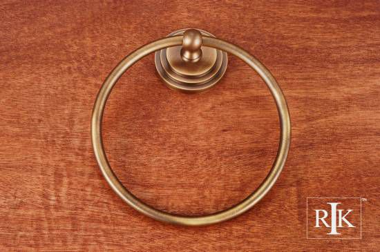 Step Up Base Towel Ring - Antique English