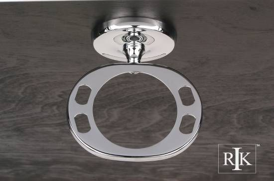 Plain Base Tumbler Holder - Chrome