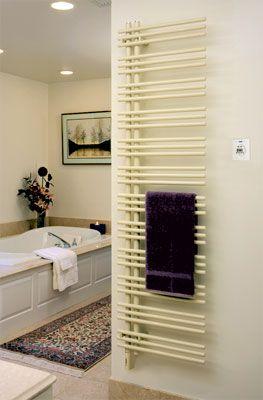 Runtal STR Solea Towel Ring Chrome