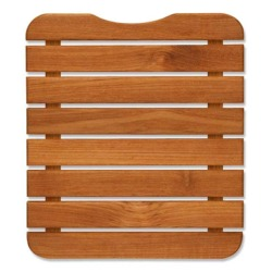 "TEAKWORKS4U 11"" x 13"" Teak Bath or Shower Mat"