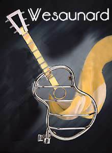 Wesaunard  inch Creative inch  Guitar Art Designer Electric Heated Towel Bar